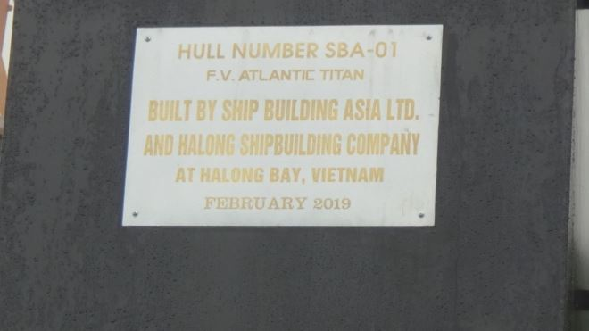 Sản phẩm hợp tác giữa HALONG Shipyard và SBA
